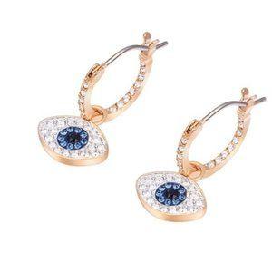 SWAROVSKI SYMBOL guardian eye earrings